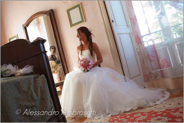 villa with rooms for wedding on Lake Orta Italy