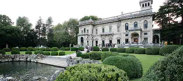 Wendy and Miki an elegant wedding to Villa Erba