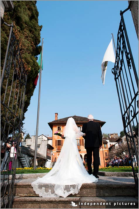 wedding to Villa Bossi Italy