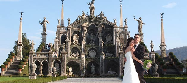 A Spring Wedding on Isola Bella