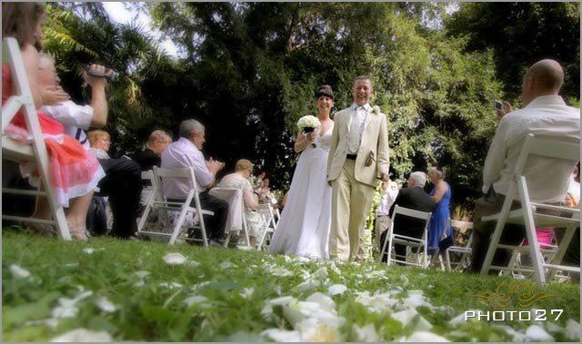 open air wedding in Sirmione lake Garda