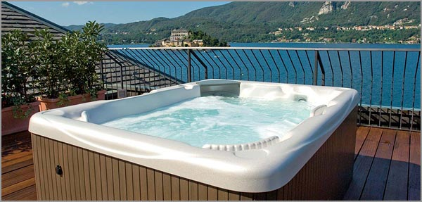 Lake view wellness San Rocco Hotel Orta