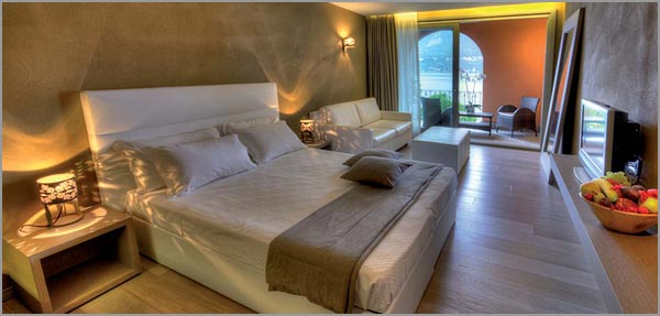 Hotel San Rocco lake view rooms