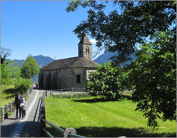 church of Novaglio Verbania lake Maggiore