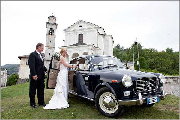 Lancia Appia wedding vintage car rental Italy
