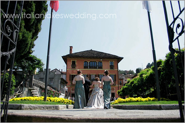 Villa Bossi weddings Lake Orta