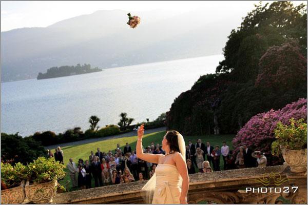 Villa Rusconi weddings lake Maggiore