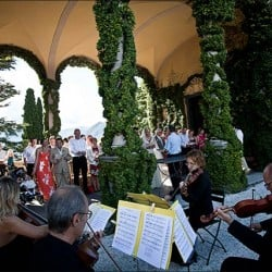 A String Quartet to Villa del Balbianello