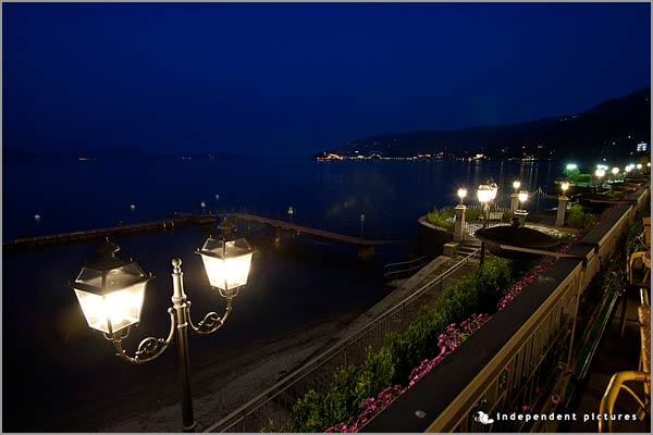 lake view wedding restaurant in Baveno Lake Maggiore