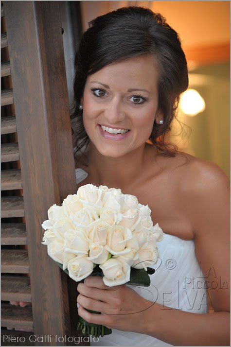 Vendela roses bridal bouquet