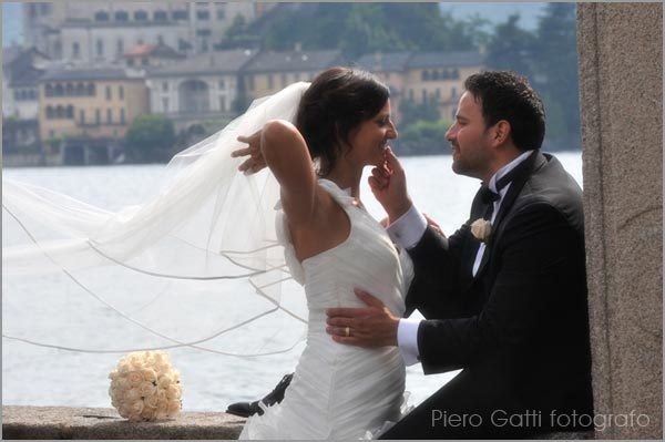 Piero Gatti wedding photographer in Stresa