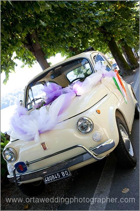 Fiat 500 car rental Lake Maggiore Italy