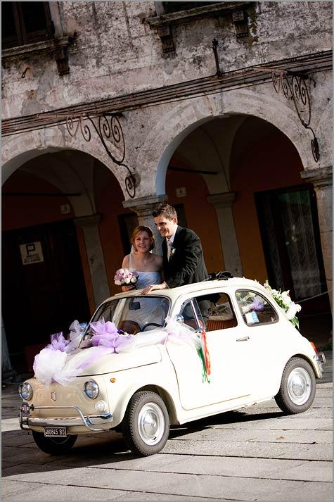 Fiat 500 car rental Torino Piemonte Italy