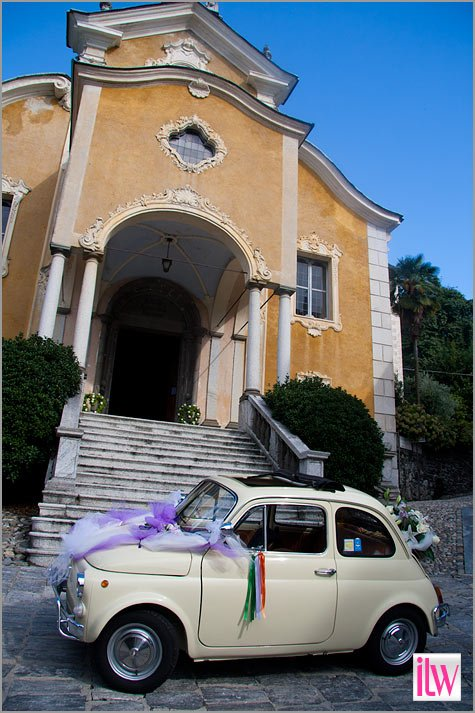vintage car rental Lake Orta Italy