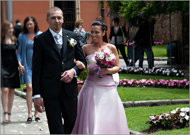 Lilac Bride's Wedding Dress in Italy
