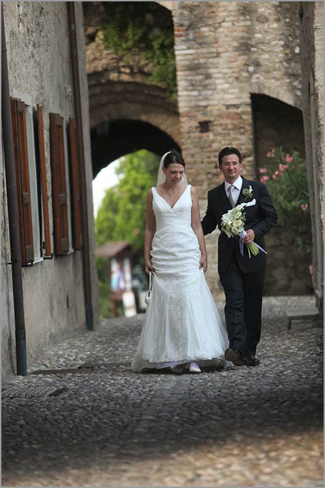Padenghe Castle wedding Lake Garda