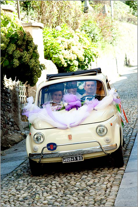 wedding vintage Fiat 500 rental