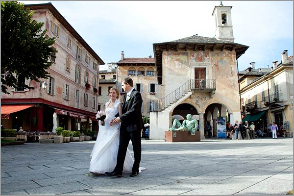 wedding Venus restaurant Lake Orta