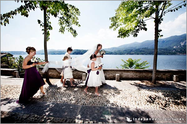 Sally and Tom's Lake Orta wedding