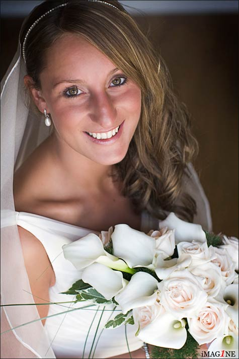 callas bridal bouquet Lake Como florist