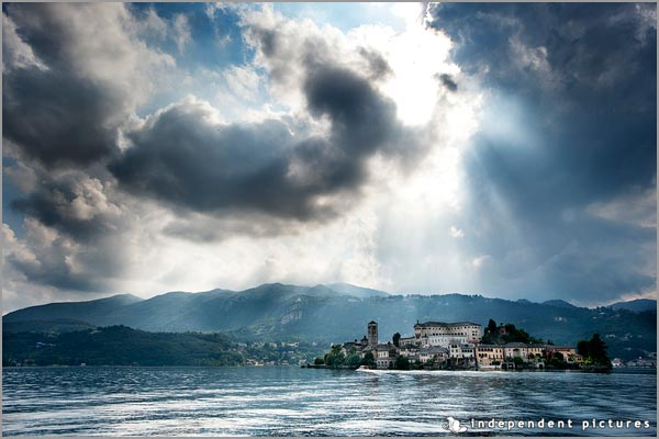 st julius island Lake Orta