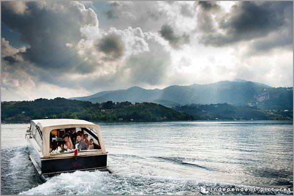 lake Orta motorboat service
