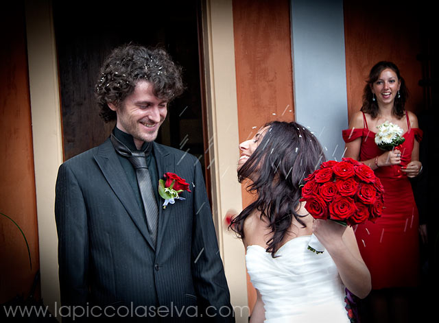 Lake Orta Wedding florist
