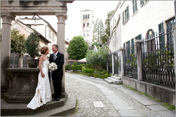 st Julius island wedding Lake Orta Italy