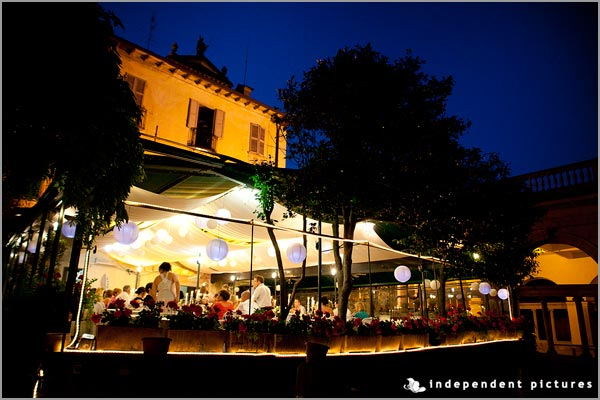 San Giulio restaurant wedding