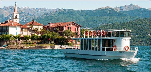 Lake Maggiore boat shuttle service