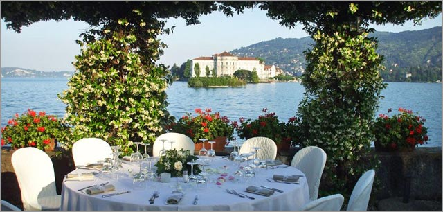 wedding to Verbano hotel restaurant
