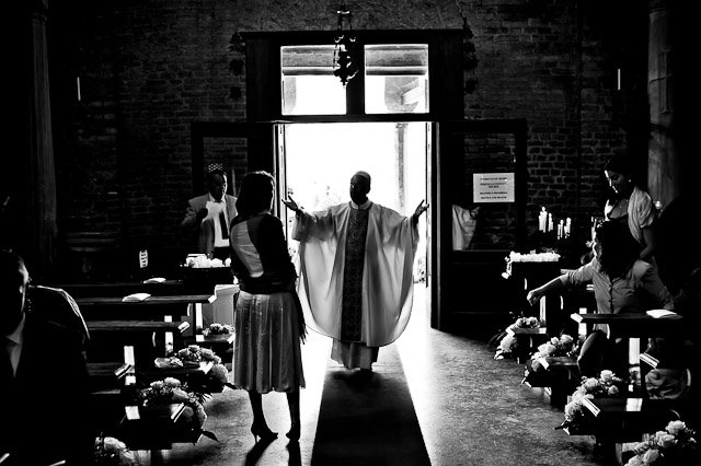 wedding ceremony in Venice