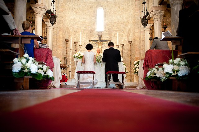 catholic wedding ceremony in Venice