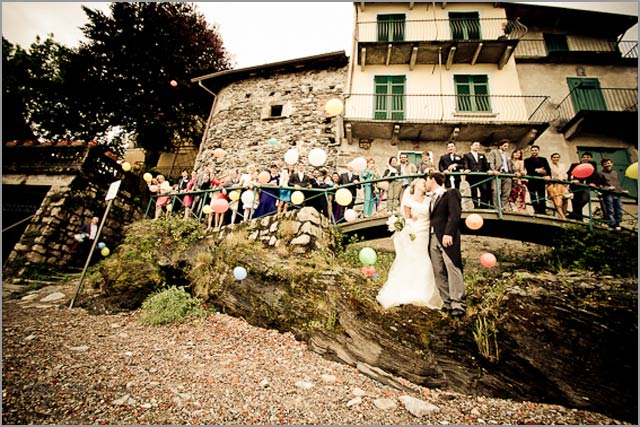 wedding to Belvedere hotel & restaurant Lake Maggiore