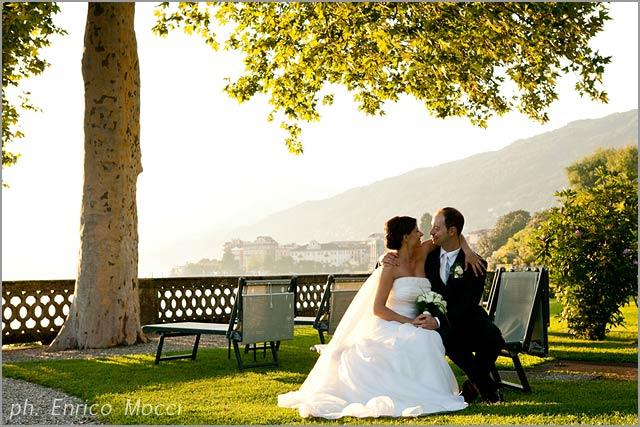 wedding to Grand Hotel Majestic Pallanza