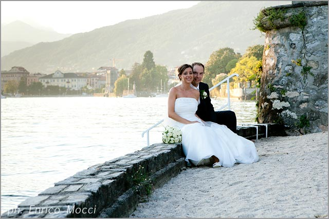 wedding in Pallanza