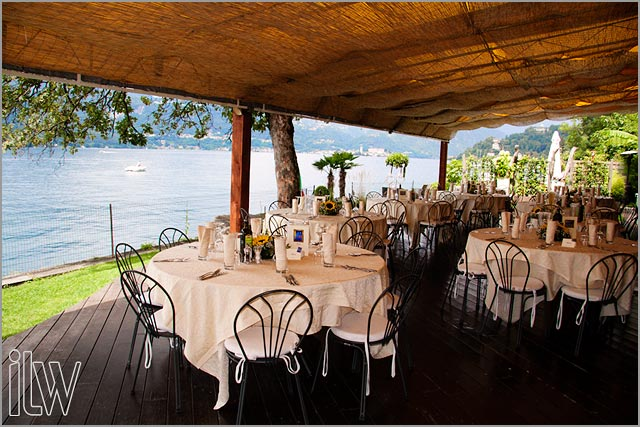 lake shores wedding restaurants Lake Orta Italy