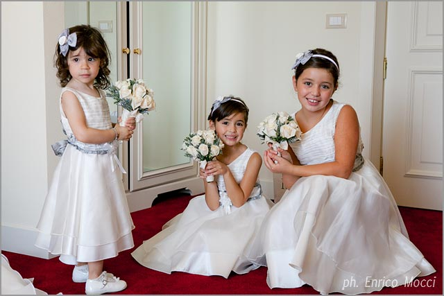 flower girls dresses in Italy