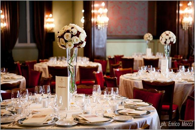 floral centerpieces to Hotel Majestic Lake Maggiore