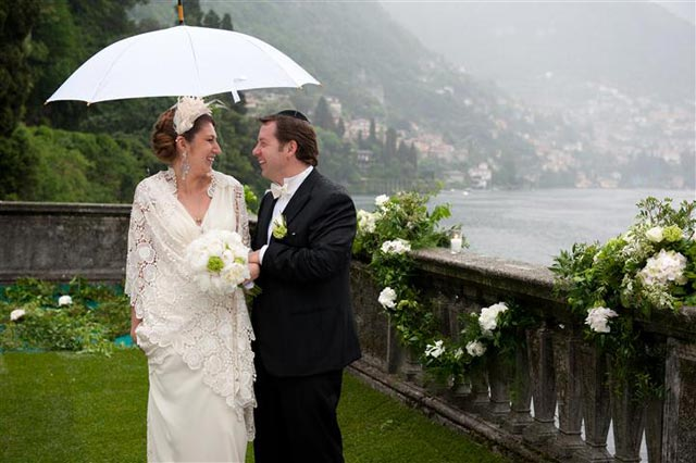 wedding in Villa Cernobbio
