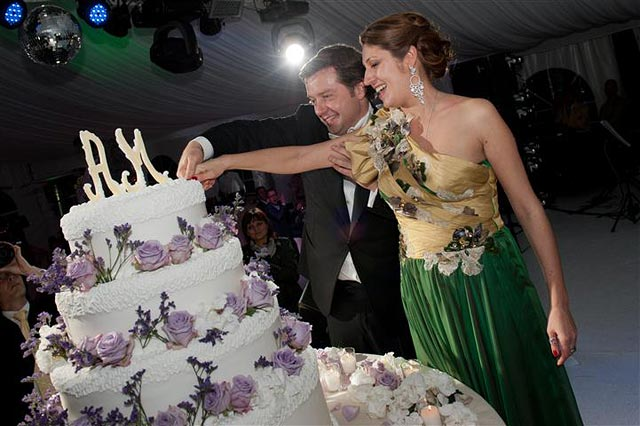 wedding cake Cernobbio lake Como