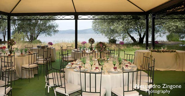 lake Bracciano country wedding venue