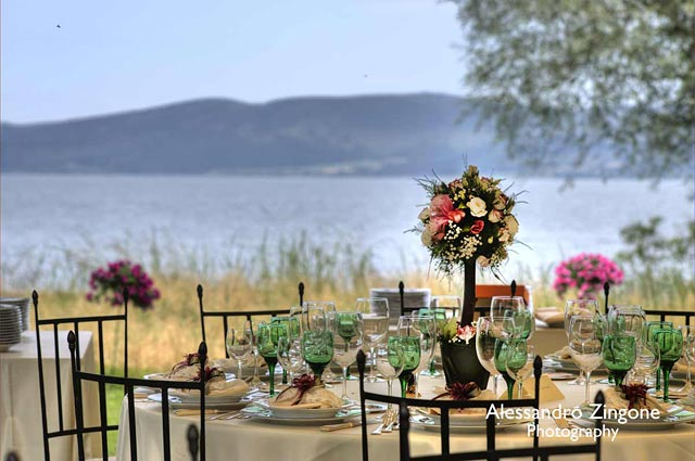 Rome lake Bracciano country wedding venue