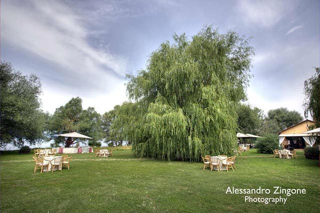 countryside wedding venues on Lake Bracciano Rome Italy