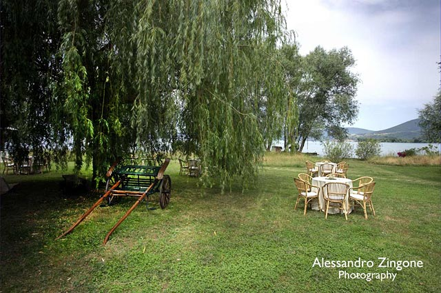 Lake Bracciano weddings