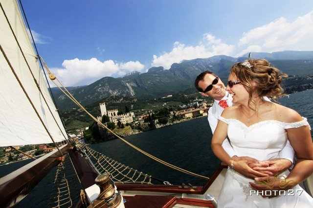 historical sailing ship rentals on Lake Garda