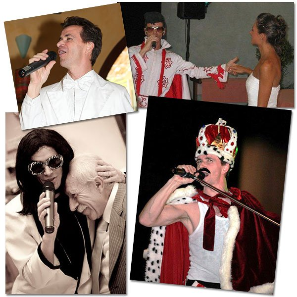 DJ showman entertainer for weddings in Italy