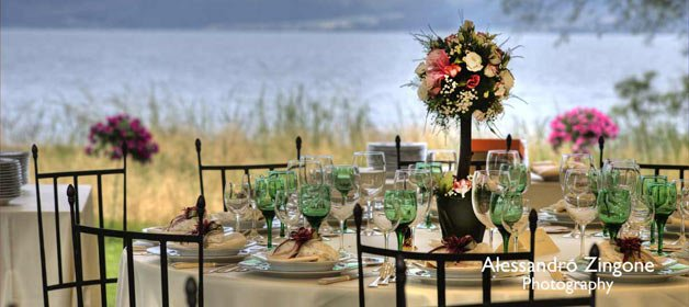 A Real Country and Bucolic Wedding on Lake Bracciano
