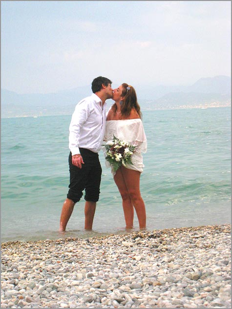 wedding in Sirmione lake Garda