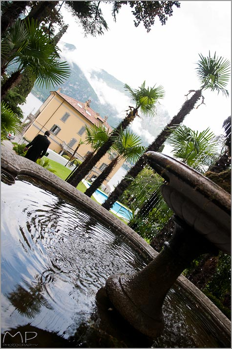wedding reception venue historical Villa overlooking lake Como